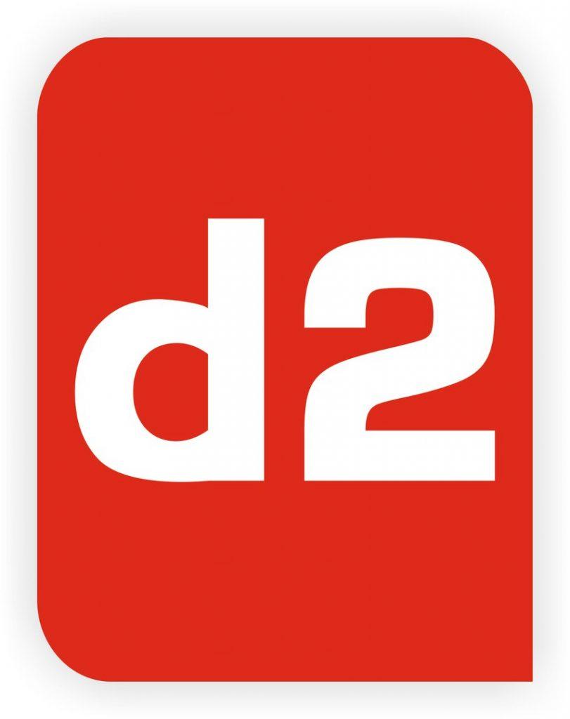 """логотип компании Рекламно-производственная компания """"Д2"""""""