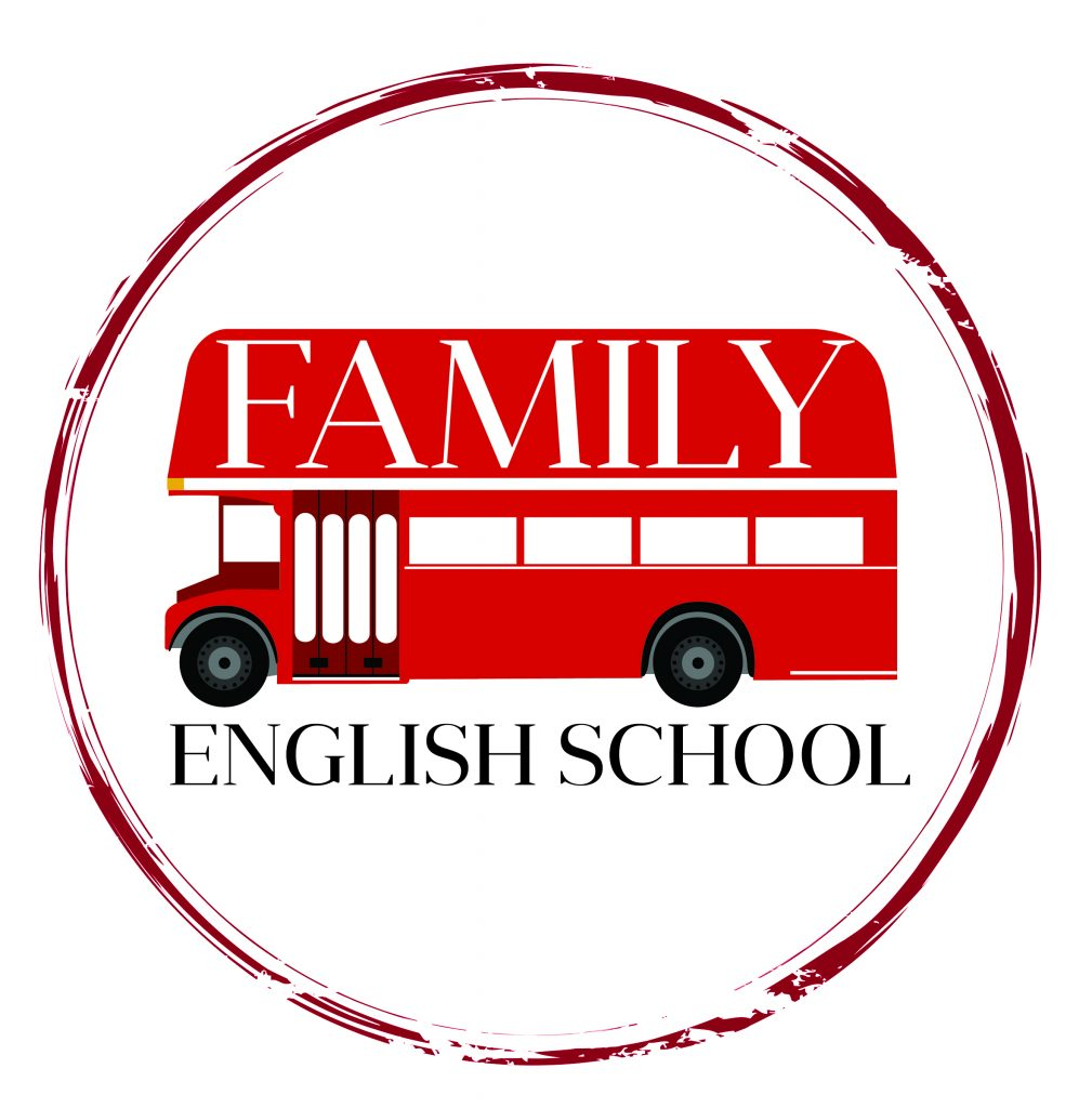 логотип компании Школа английского языка Family