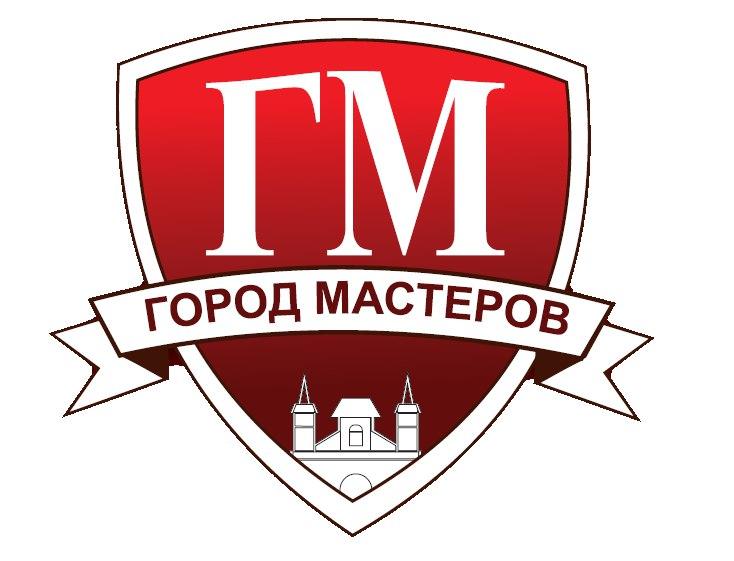 логотип компании Город Мастеров, Поставщик декоративно-отделочных материалов