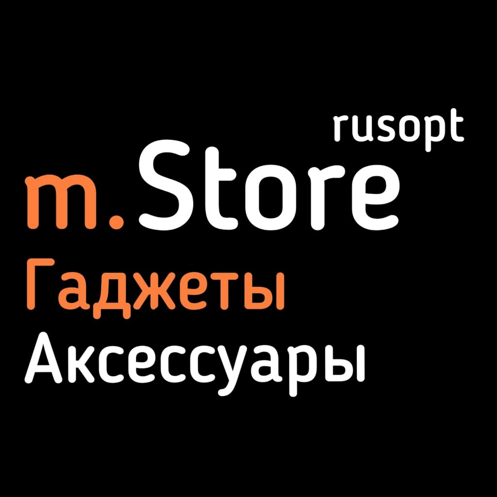 логотип компании m.Store_rusopt – Гаджеты и аксессуары
