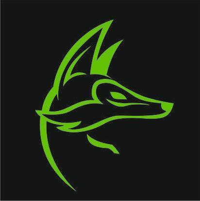 """логотип компании РПК """"GREENFOX"""""""