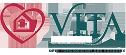 """логотип компании Сеть пансионатов для пожилых """"Vita"""""""