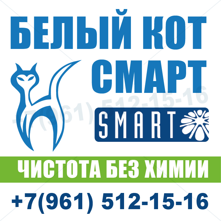 логотип компании Белый кот Смарт