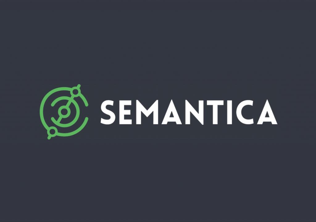 логотип компании Semantica, продвижение сайтов