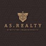 логотип компании AS. Realty